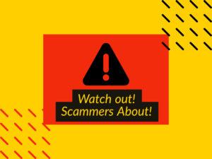 Scammer threat