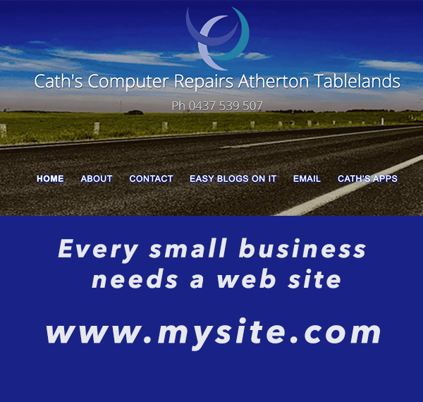 Every small business needs a web site